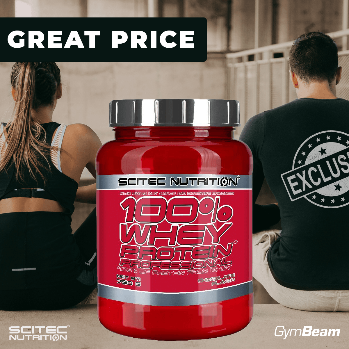 Scitec Nutrition 100 Whey Protein Professional 2350 g