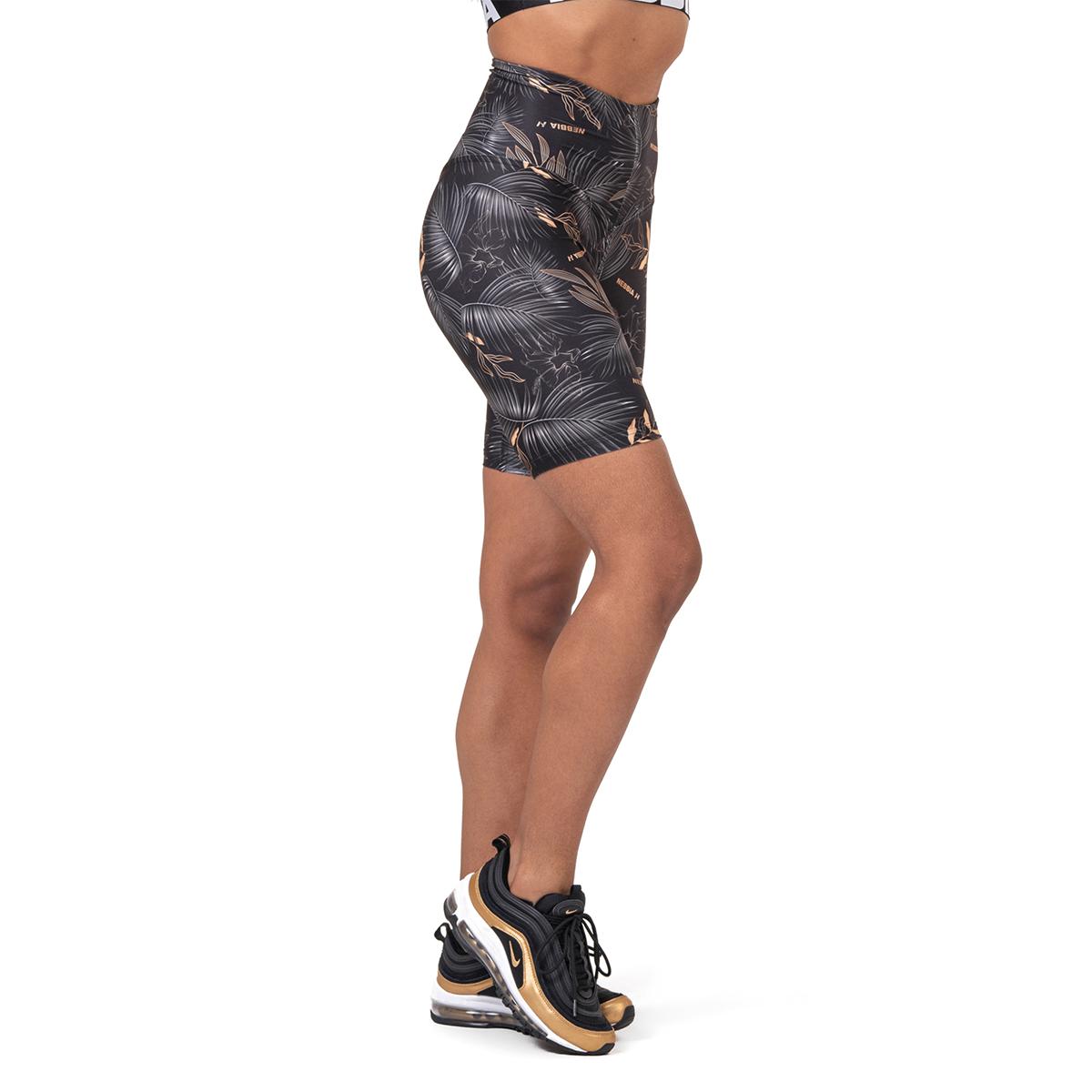 Levně Dámské šortky Biker Active black M - NEBBIA