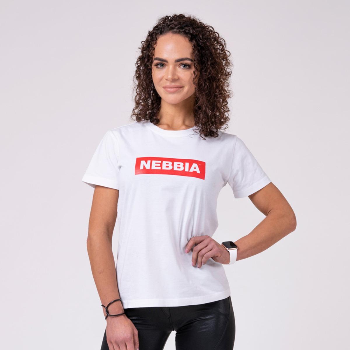 Dámské tričko Basic White - NEBBIA
