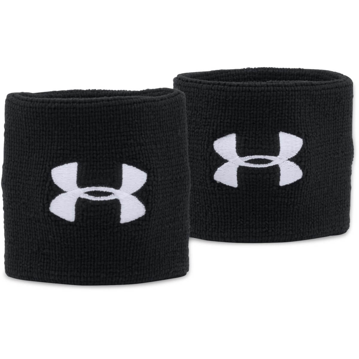 Performance Wristbands Black - Under Armour - Black