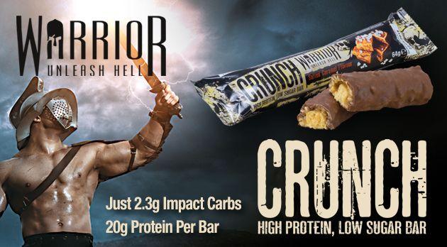 Proteínová tyčinka Crunch 64 g - Warrior