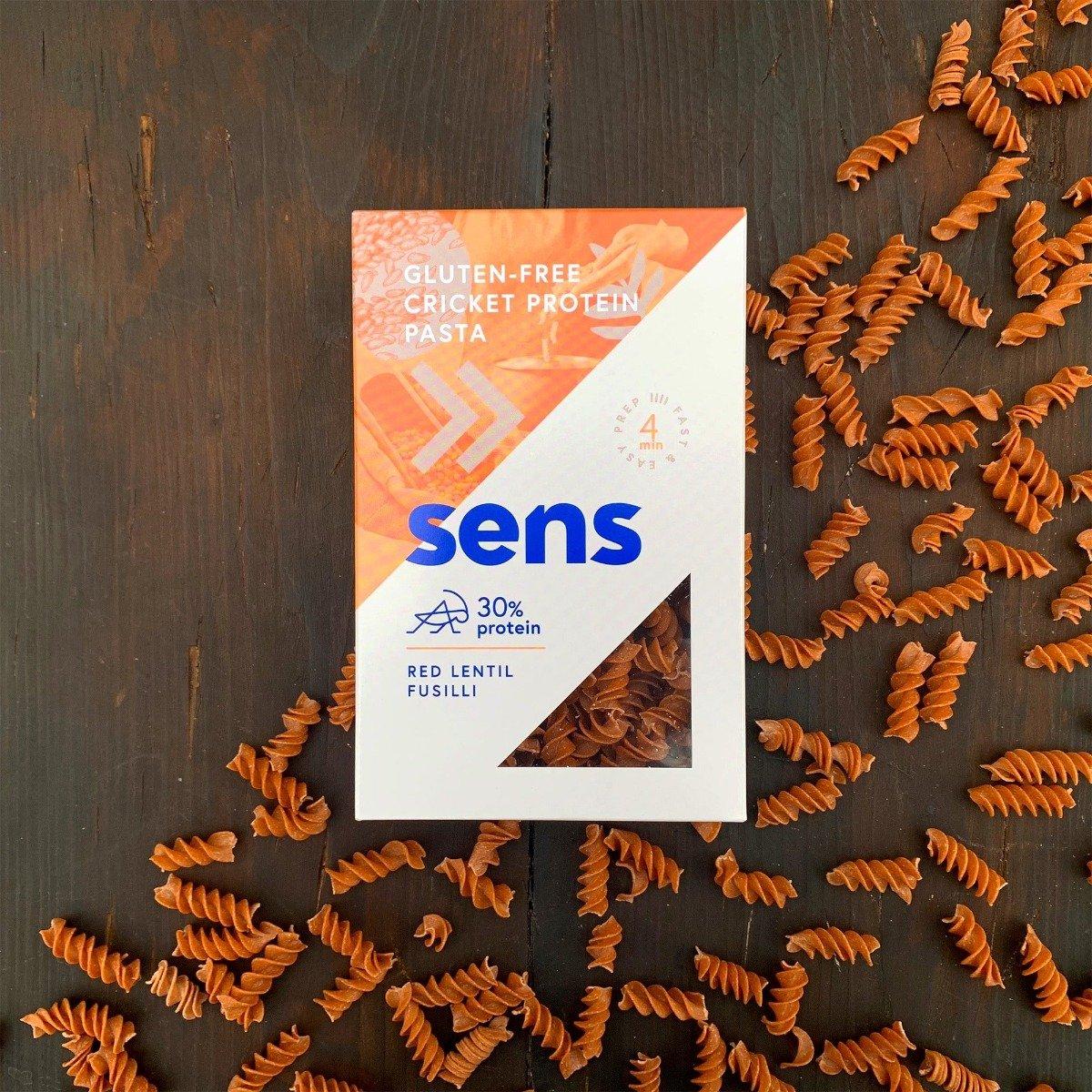 Proteinové těstoviny z cvrččí mouky - SENS