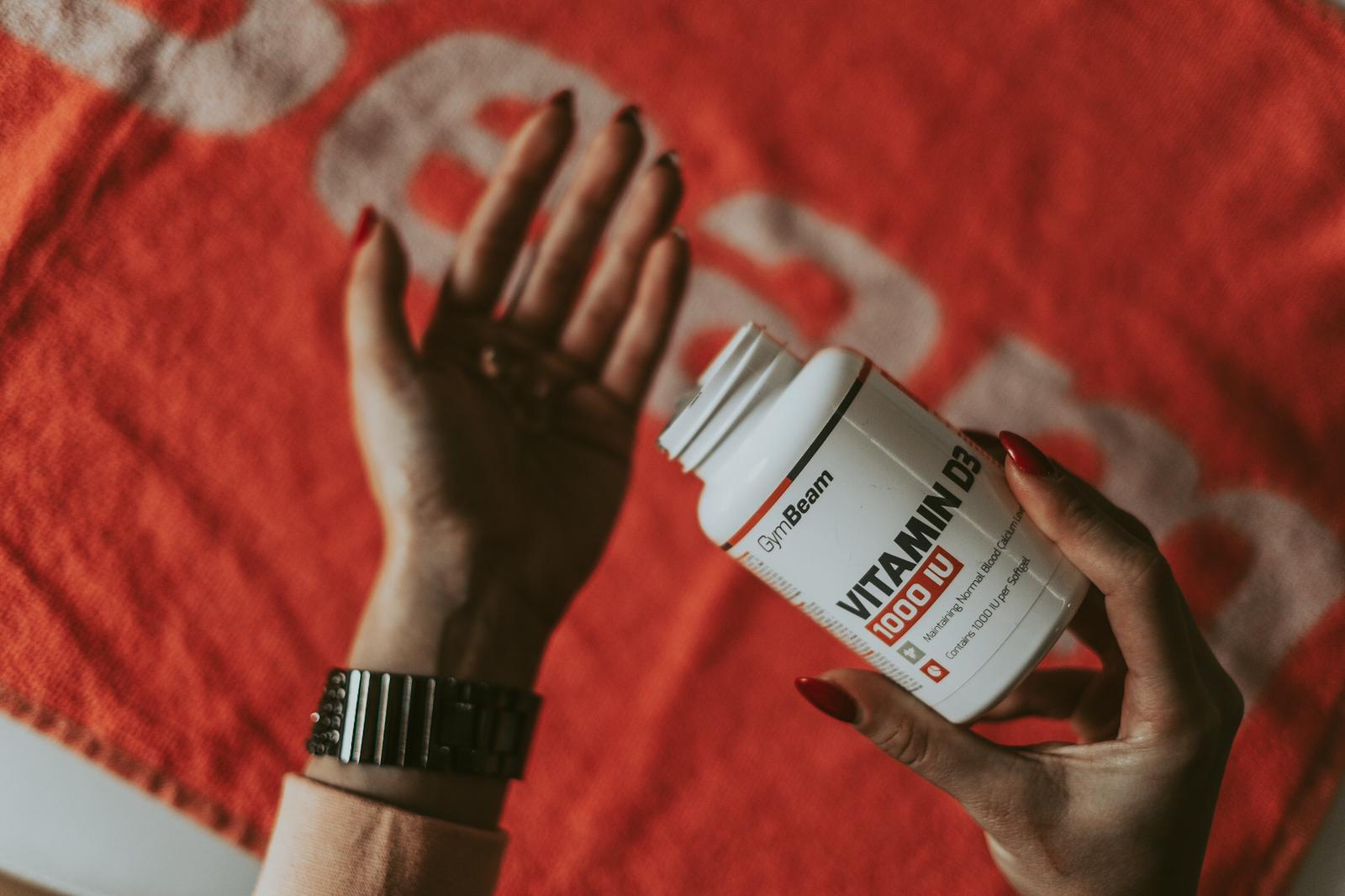 Vitamín D3 1000 IU - GymBeam