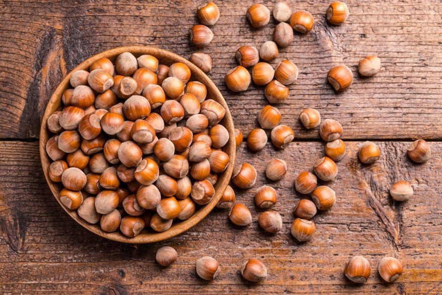 Lískové ořechy - oriešky GymBeam