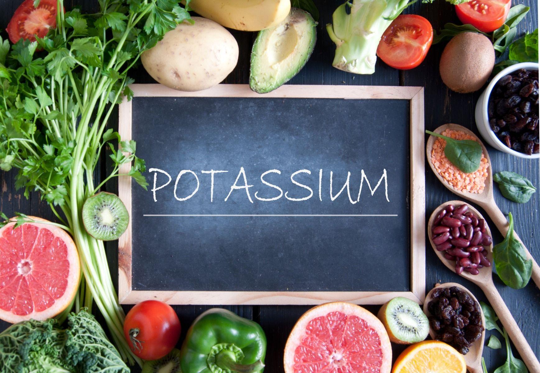 draslík - potassium - gymbeam