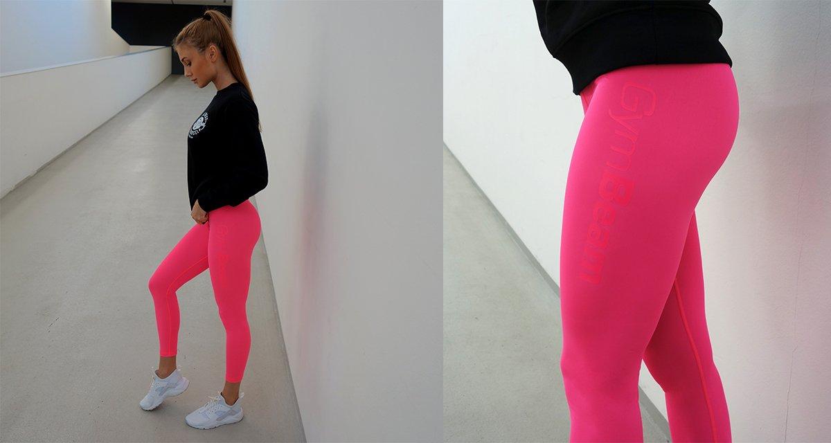 Dámské legíny Fruity Pink - GymBeam