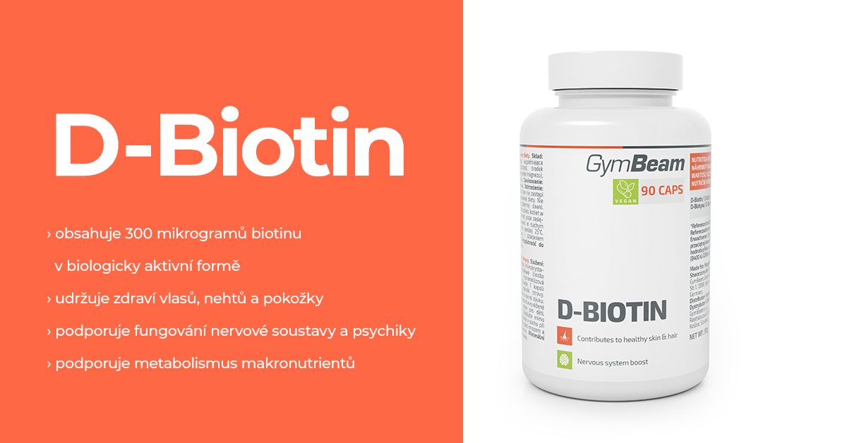 D-Biotin - GymBeam