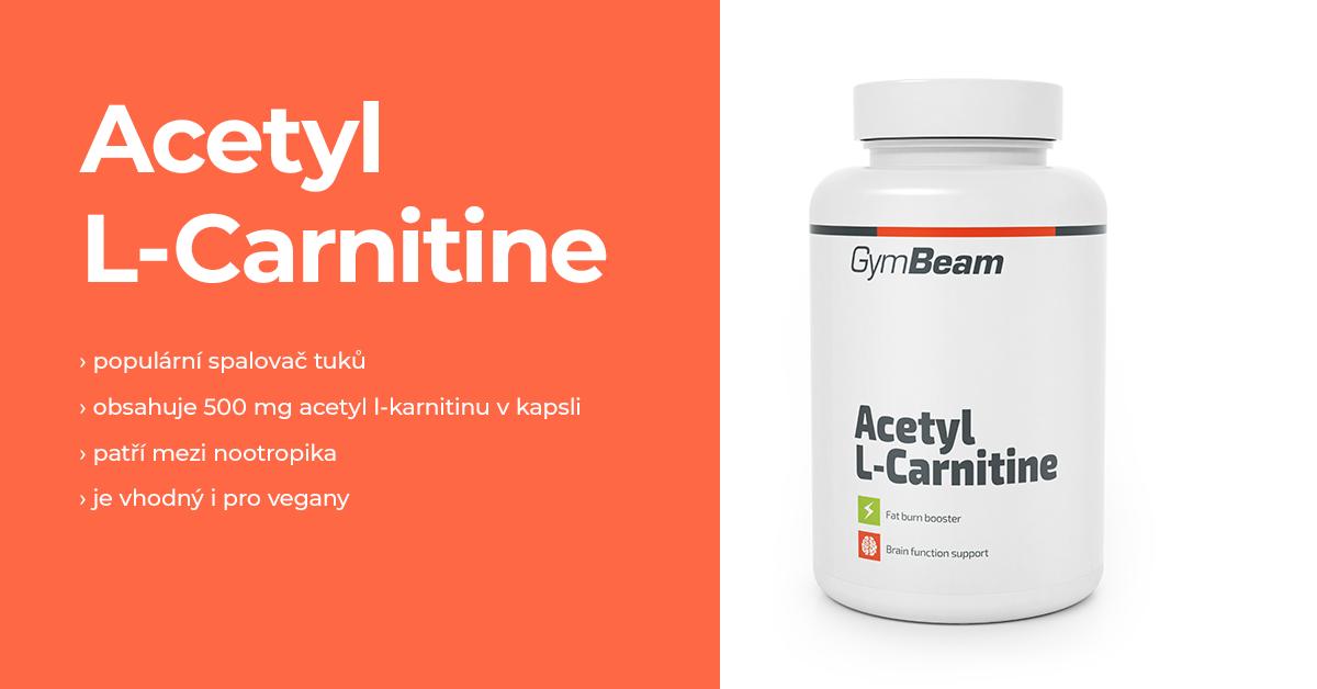 Acetyl L-karnitin - GymBeam