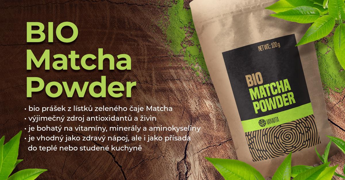 BIO Matcha prášek - VanaVita