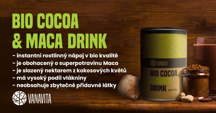 BIO Cocoa & Maca Drink - VanaVita