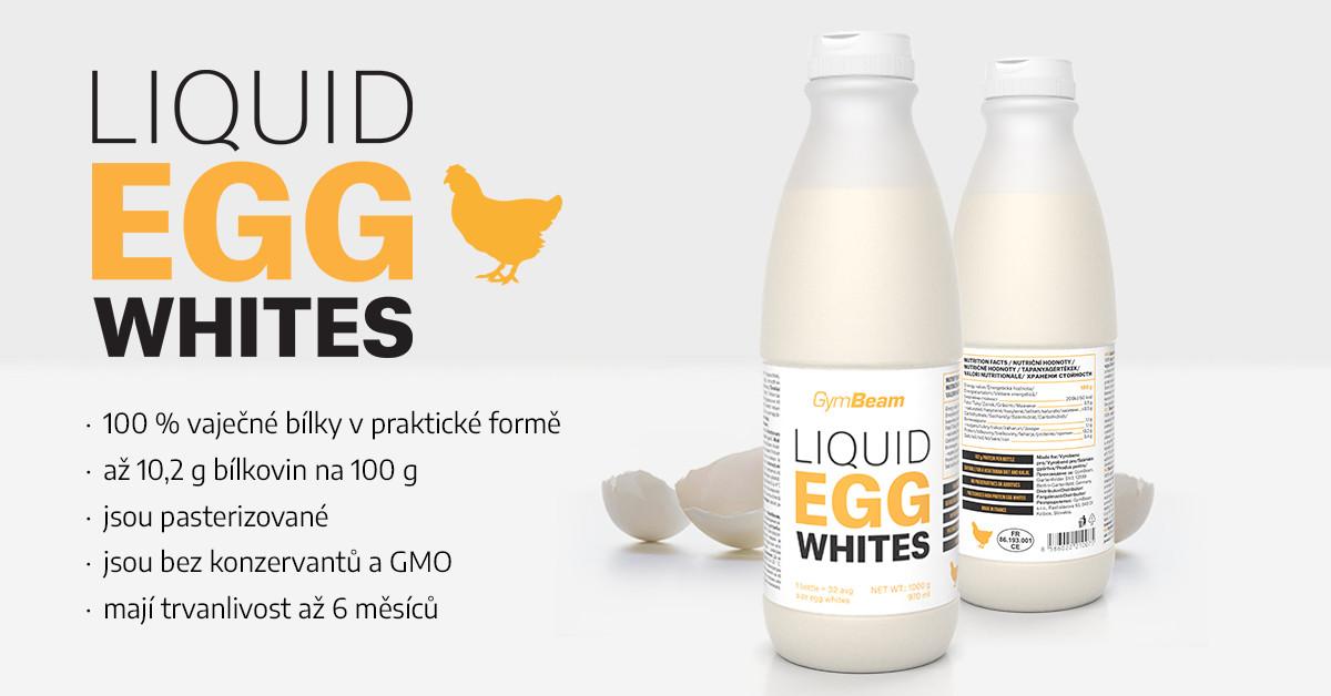 Tekuté vaječné bílky - GymBeam