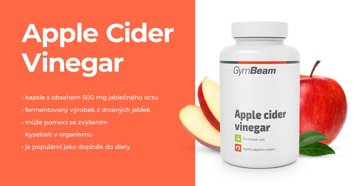 Jablečný ocet - GymBeam