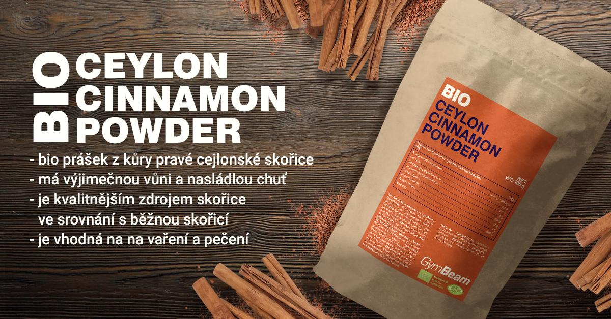 BIO Cejlonská skořice - GymBeam