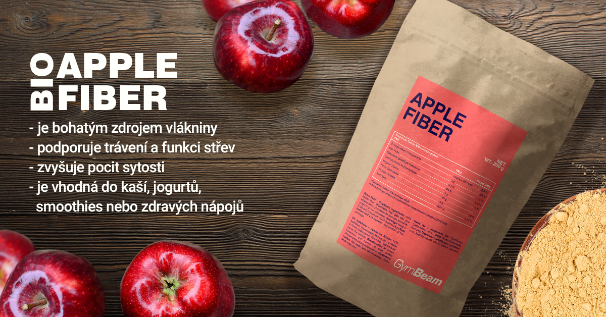 Jablečná vláknina - GymBeam