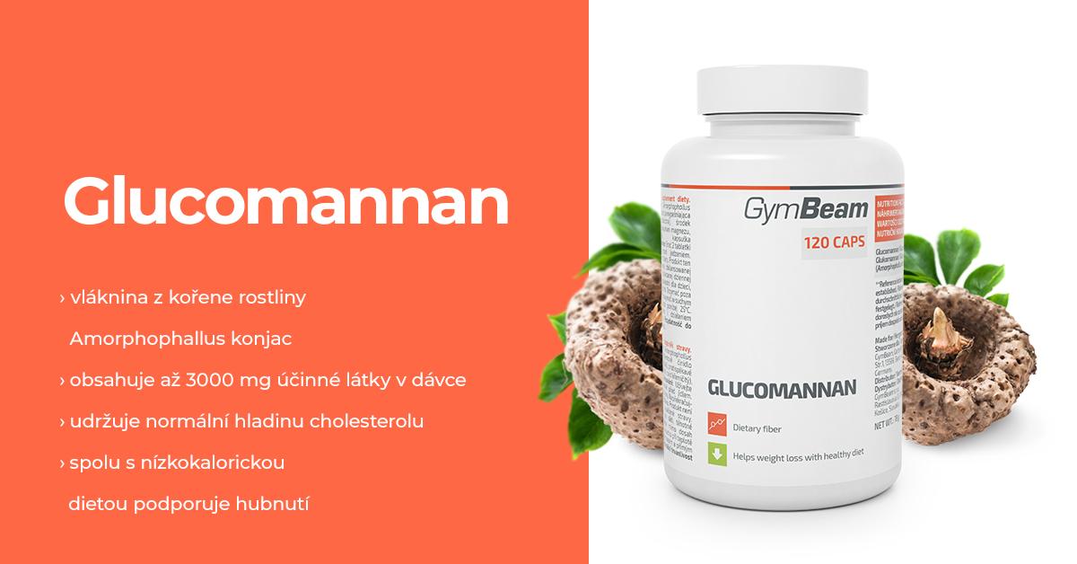Glukomanan - GymBeam