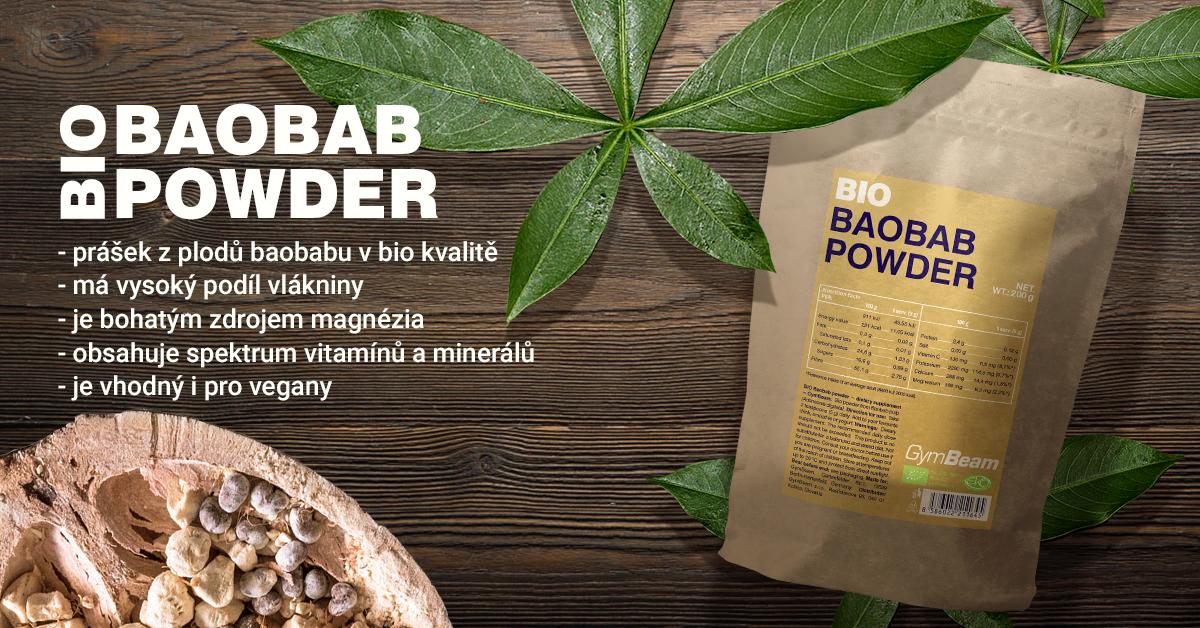 BIO Baobab prášek - GymBeam