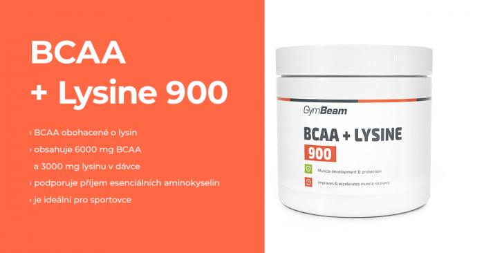BCAA + Lysin 900 - GymBeam