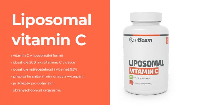 Lipozomální Vitamín C - GymBeam