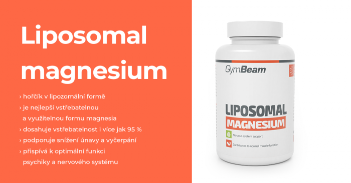 Lipozomální Magnézium - GymBeam