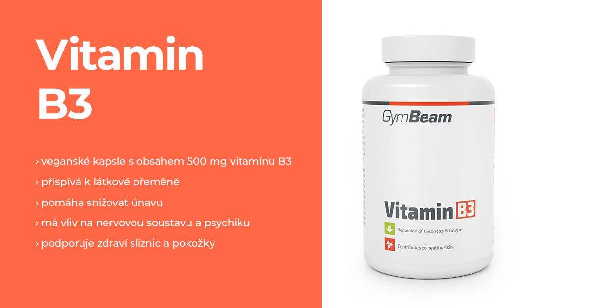 Vitamín B3 - GymBeam