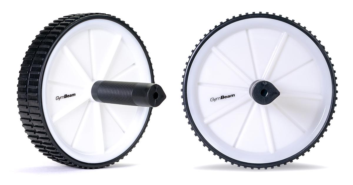 Posilovací kolečko Double Ab Wheel - GymBeam
