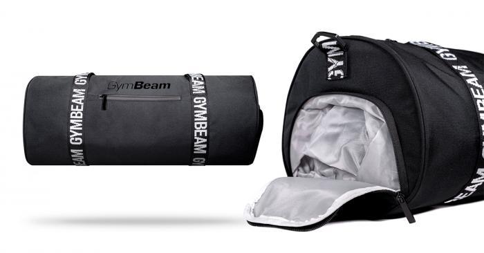 Sportovní taška Barrel Black - GymBeam
