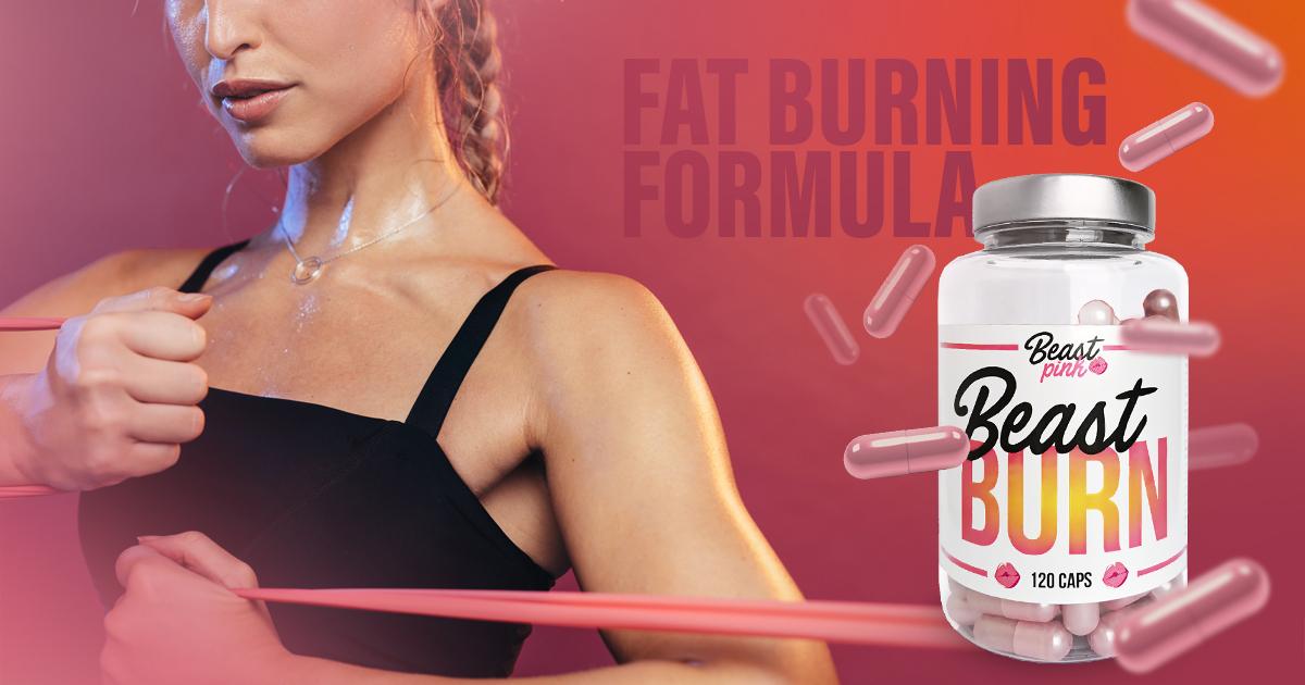 Spalovač tuků Beast Burn 120 kaps - BeastPink