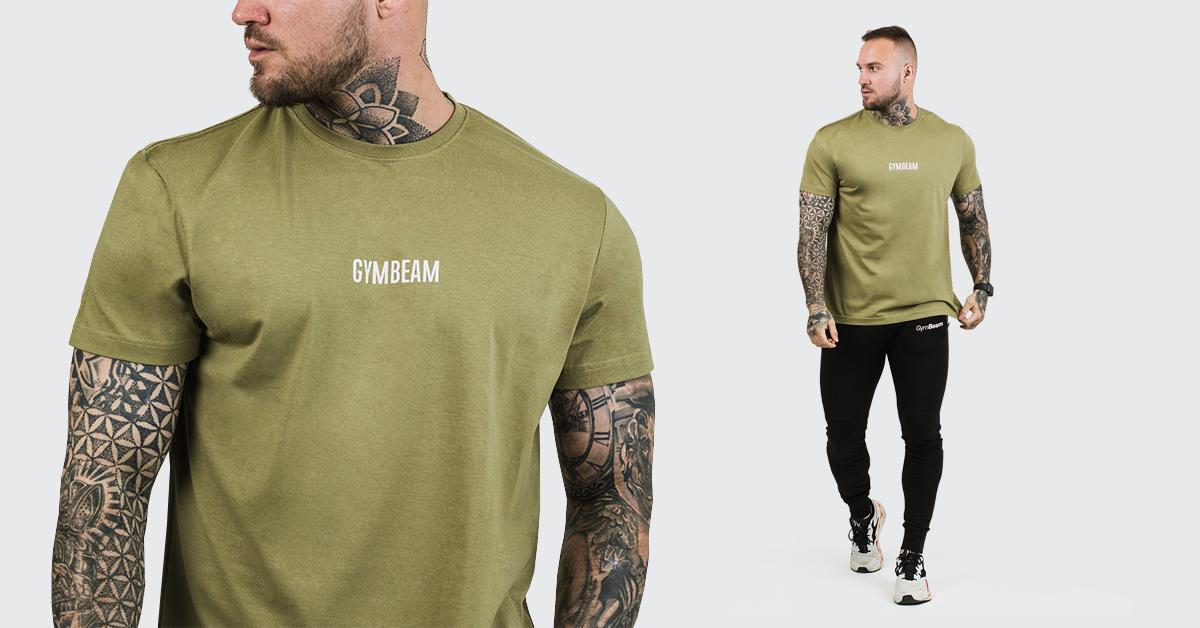 Tričko FIT Olive - GymBeam