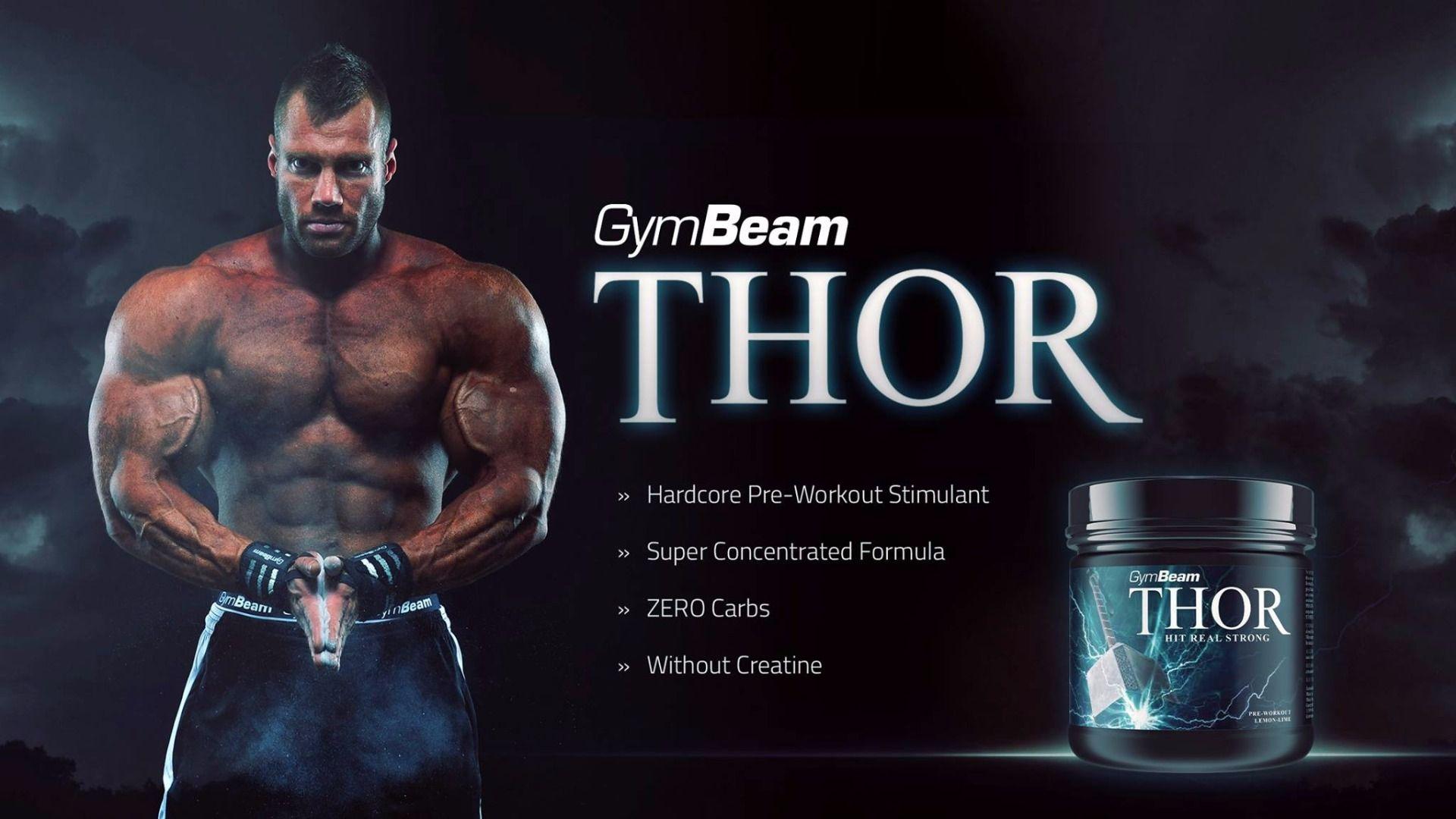Thor Fuel + Vitargo GymBeam předtréninkový stimulant