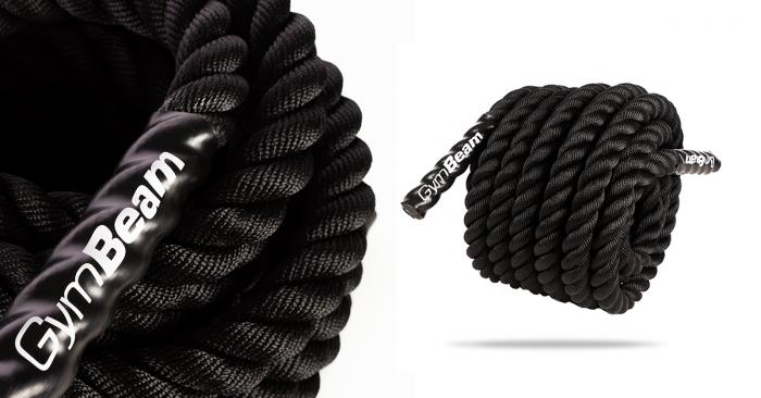 Posilovací lano Battle Rope 12 m - GymBeam
